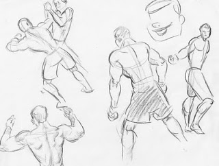 320x242 Caricatures, Drawings And Doodles Big Ufc Post