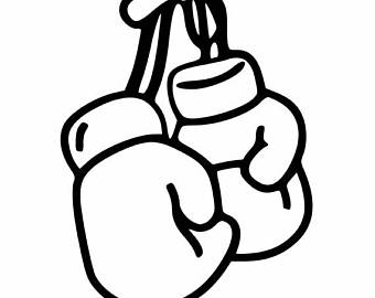 340x270 Boxing Gloves Decal Etsy