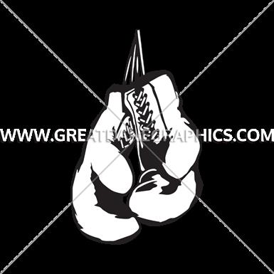 385x385 Boxing Gloves Art Group