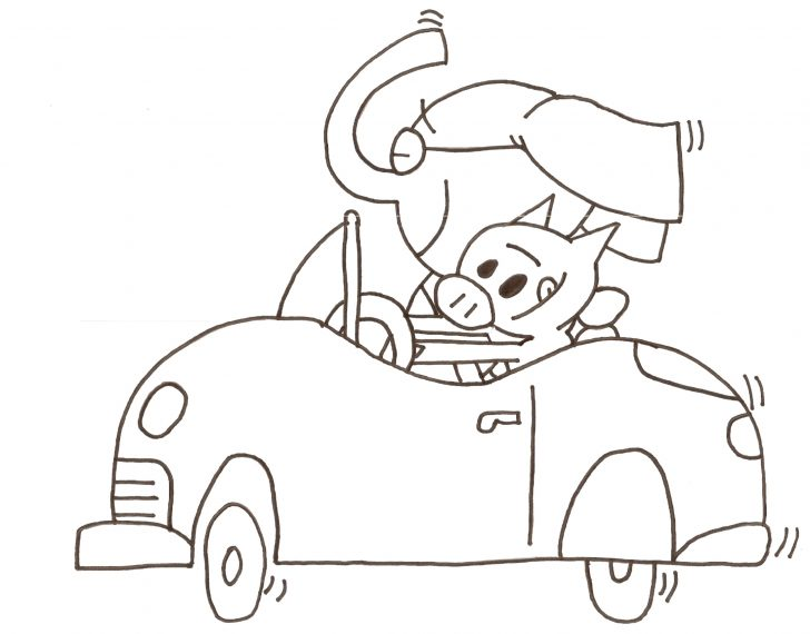 728x570 Mo Willems Coloring Pages