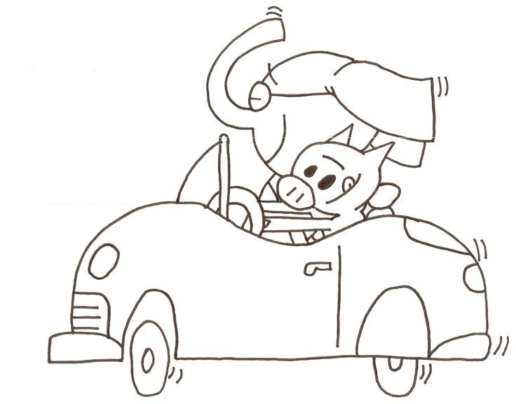 736x576 Mo Willems Coloring Pages Coloring Page For Kids