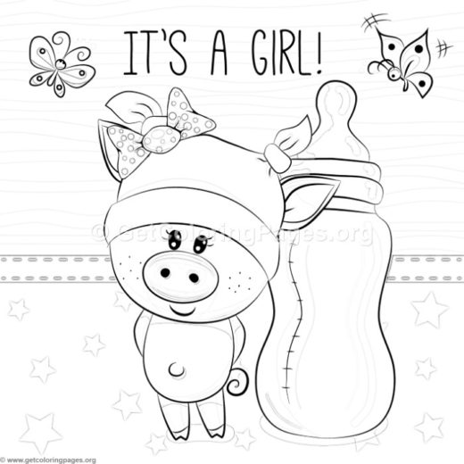 520x520 Piggy Coloring Pages Mo Willems