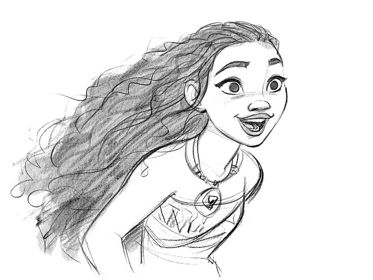 Moana Drawing