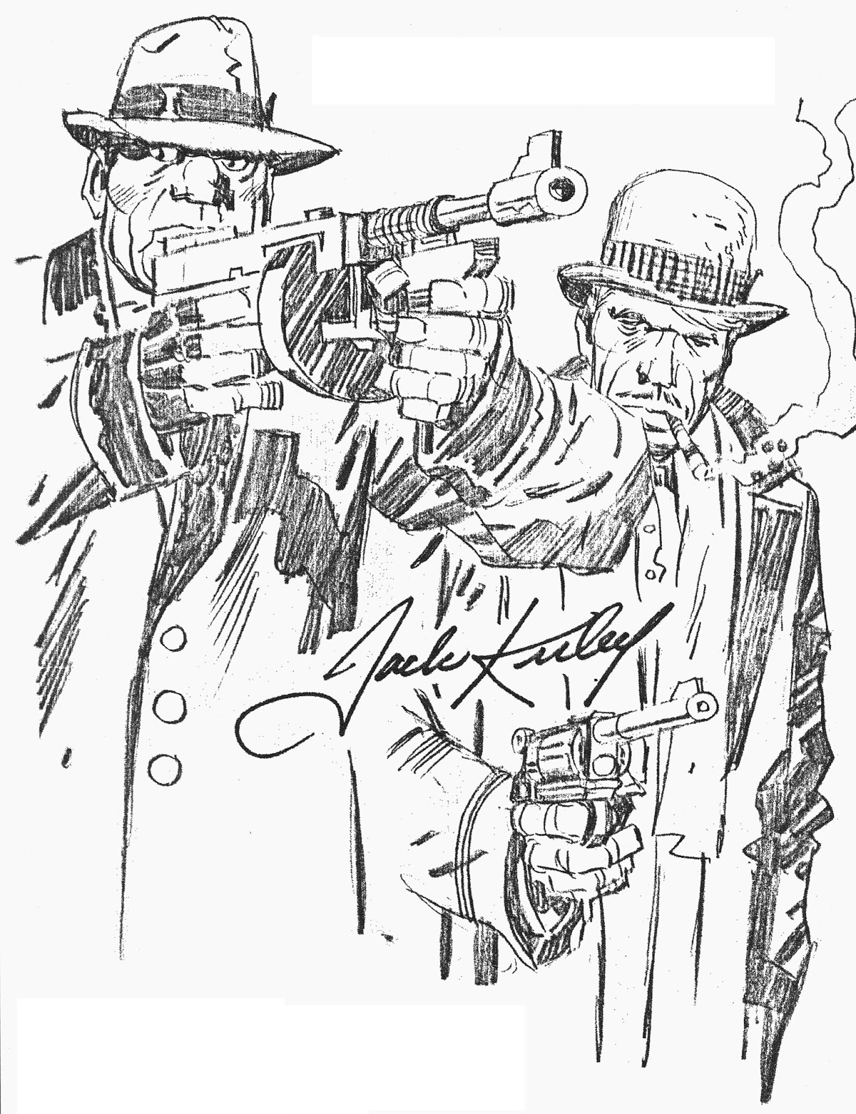 1230x1600 Cap'N's Comics In The Days Of The Mob