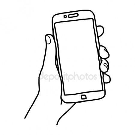 450x450 Illustration Vector Doodle Hand Drawn Sketch Of Human Left Hand