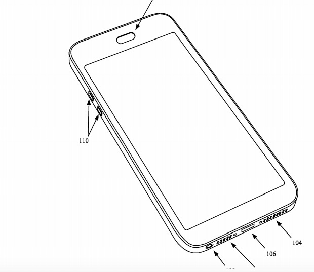 620x537 Apple Patents Waterproof Iphone Solution