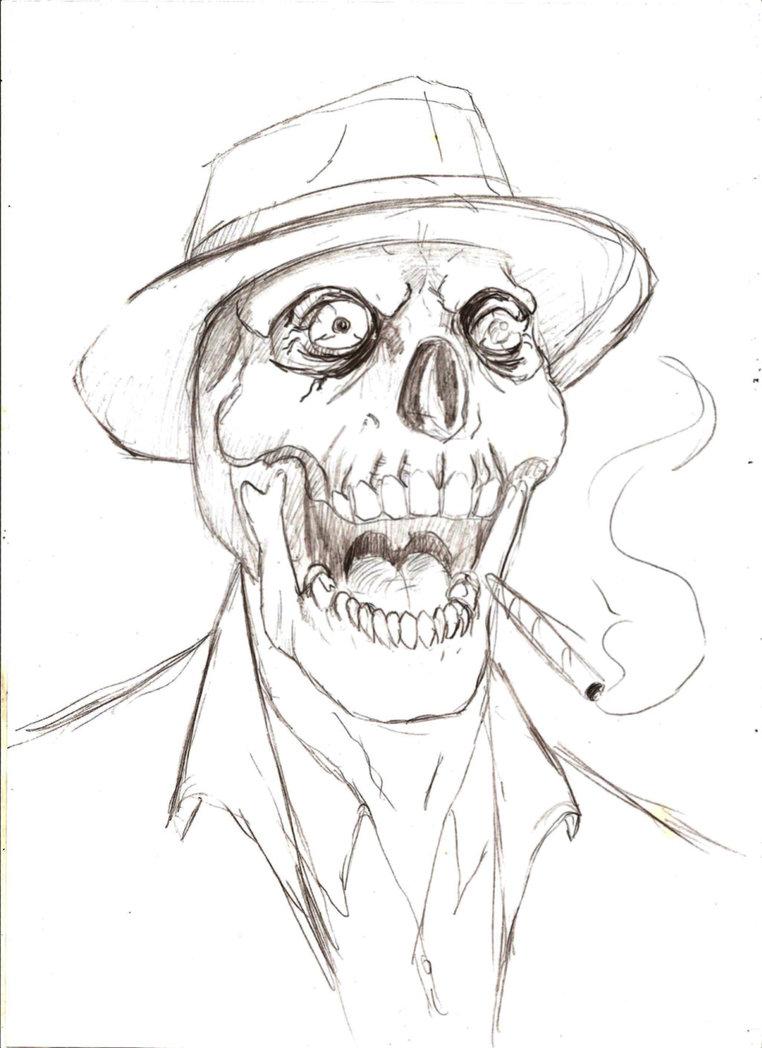 762x1048 Yelling Dead Mobster By Darkmatteria