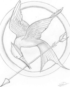 236x291 How To Draw The Mockingjay Pin Guess Who Is Going To Do This