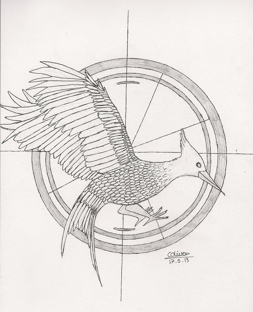 805x993 Catching Fire Mockingjay By Thelilalien