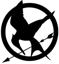 210x225 Hunger Games Sticker Ebay