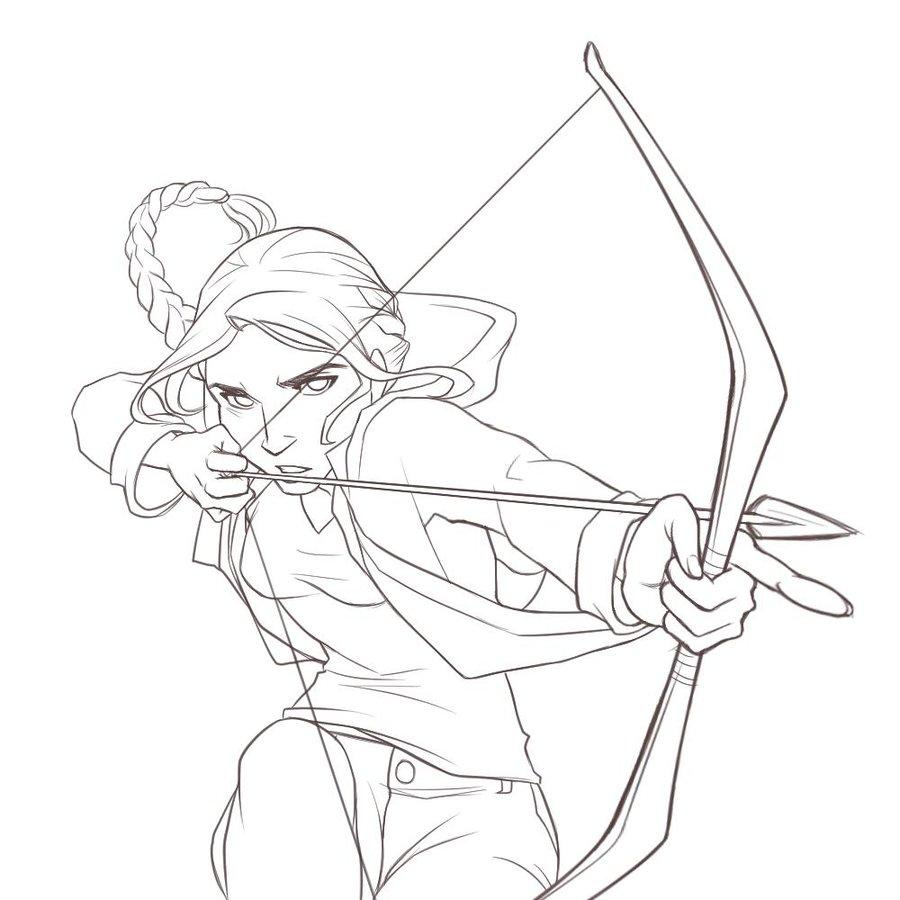 900x900 Katniss Everdeen By Itomaki