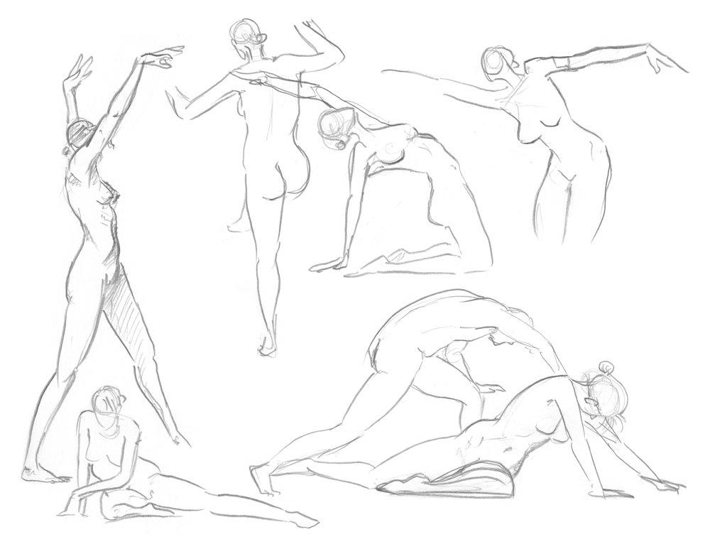 1000x773 Figure Drawing Steven Chan