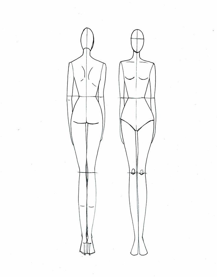 736x938 Gallery Fashion Design Model Sketch,