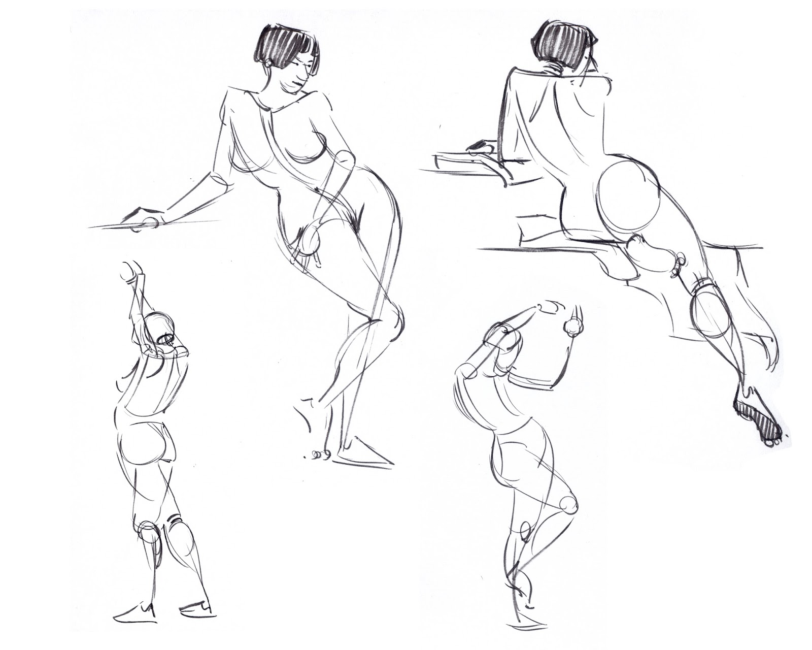 1600x1280 Nikki's Sketches Last Night's Model Drawing Collective