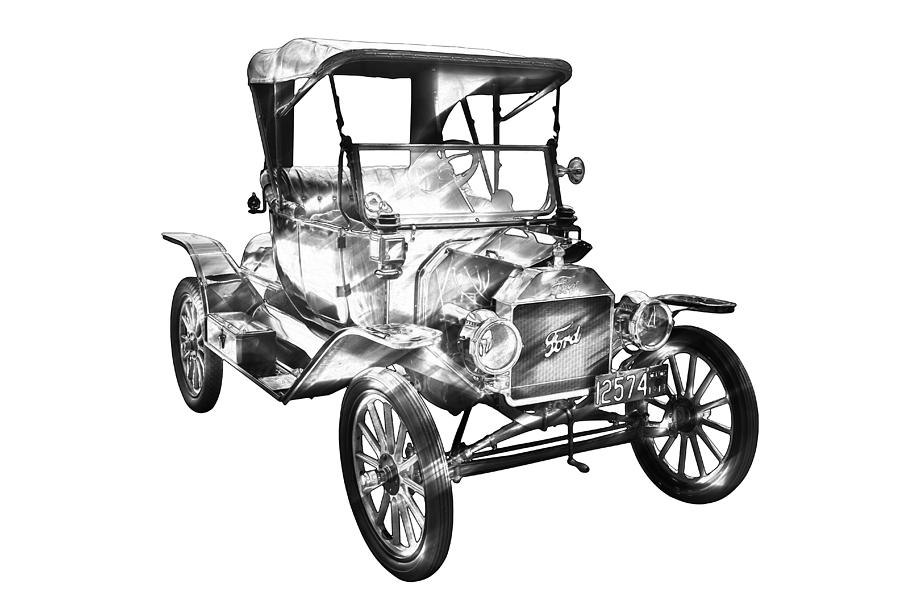 Model T Drawing At Getdrawings Com