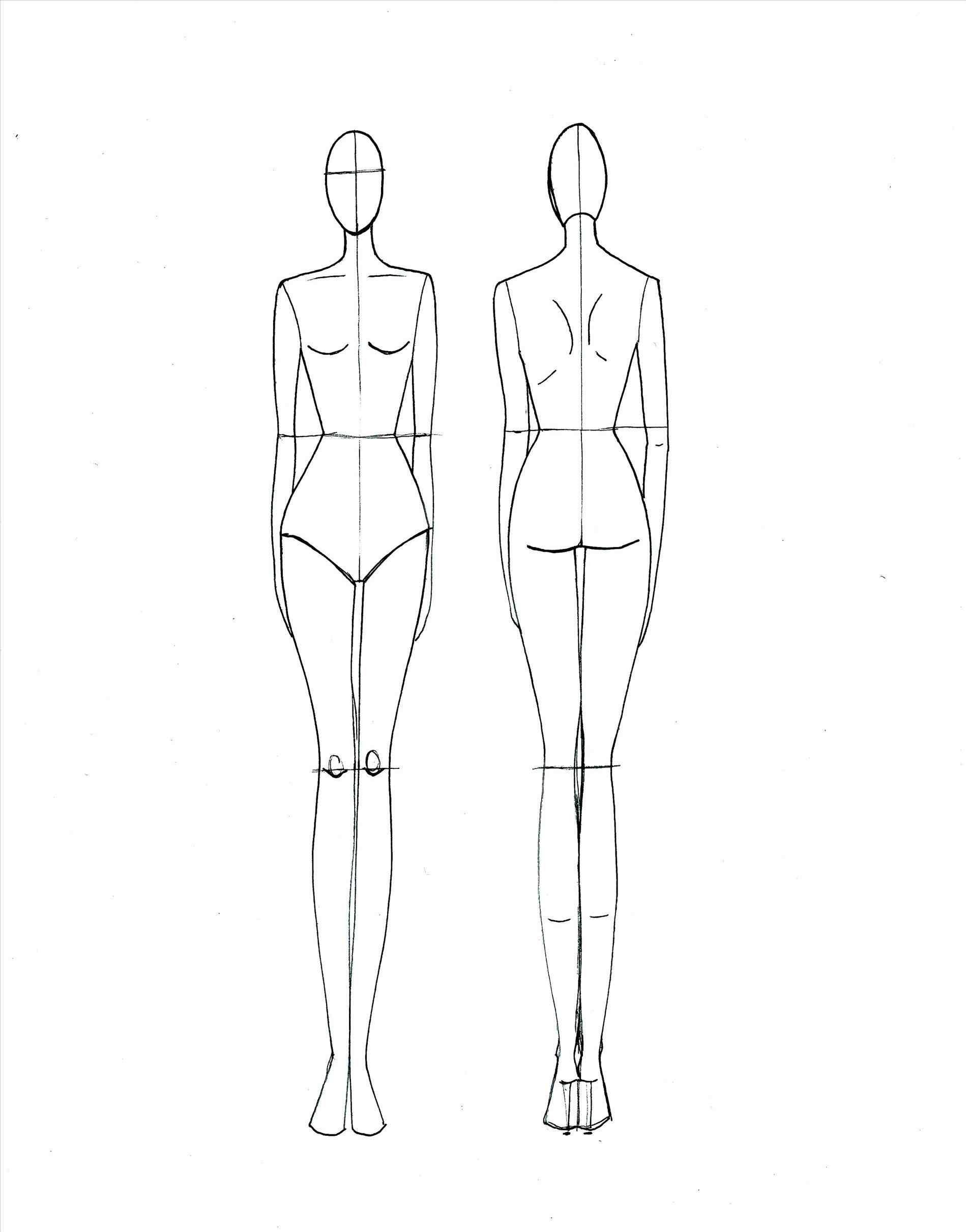1899x2421 Dress Design Sketch Templates