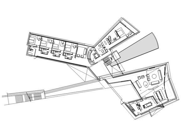 600x424 Modern And Cool Architecture Plan Design Casa De Verano En Cologne
