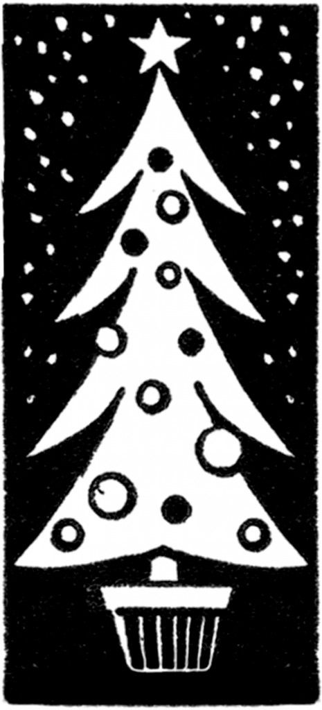 Tall Skinny Christmas Tree Silhouette.Modern Christmas Tree Drawing At Getdrawings Com Free For