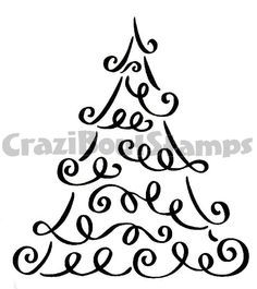 236x265 Download This Christmas Tree Digital Stamp For Your Collection
