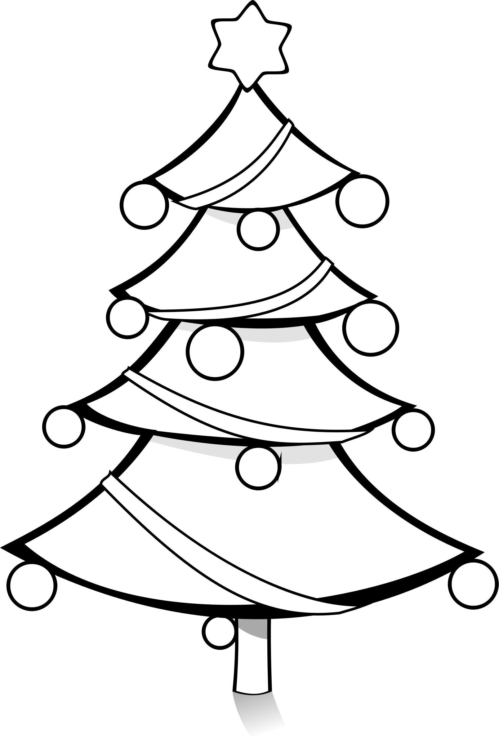 1609x2380 Modern Christmas Tree 5 Icons Png