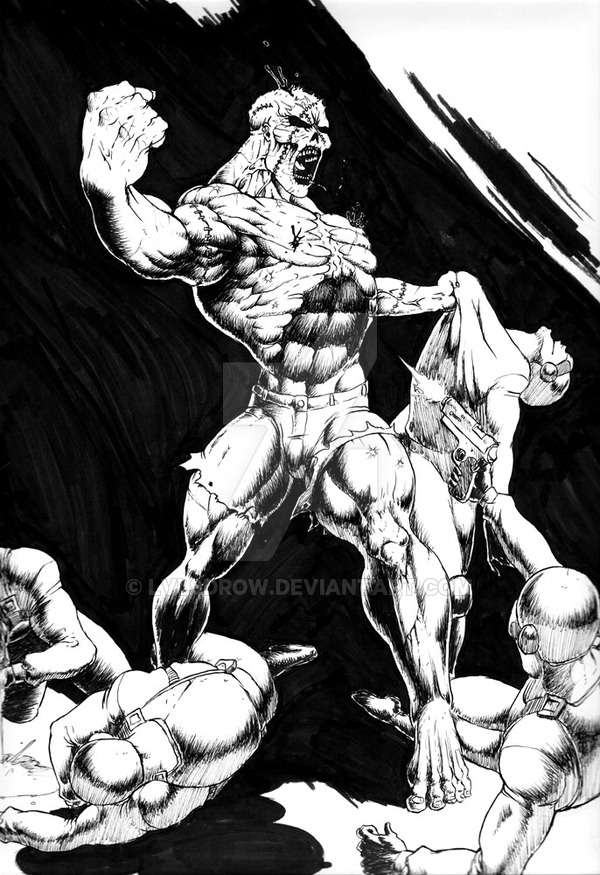600x875 Frankenstein Monster Modern By Level9drow