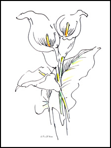 225x300 List Of Synonyms And Antonyms Of The Word Modern Flower Drawings
