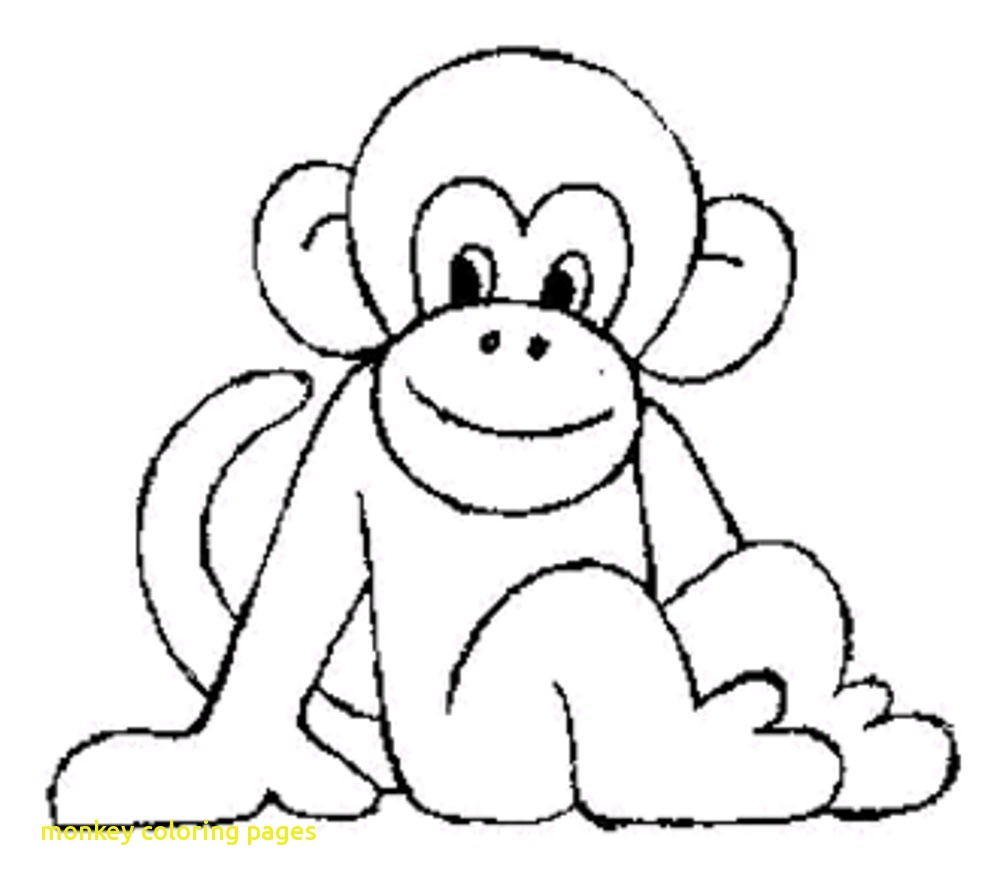 1000x888 Monkey Coloring Pages With Monkey Coloring Pages