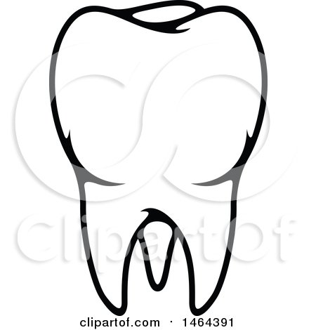 450x470 Clipart Of A Tooth Formed Of Dental Items