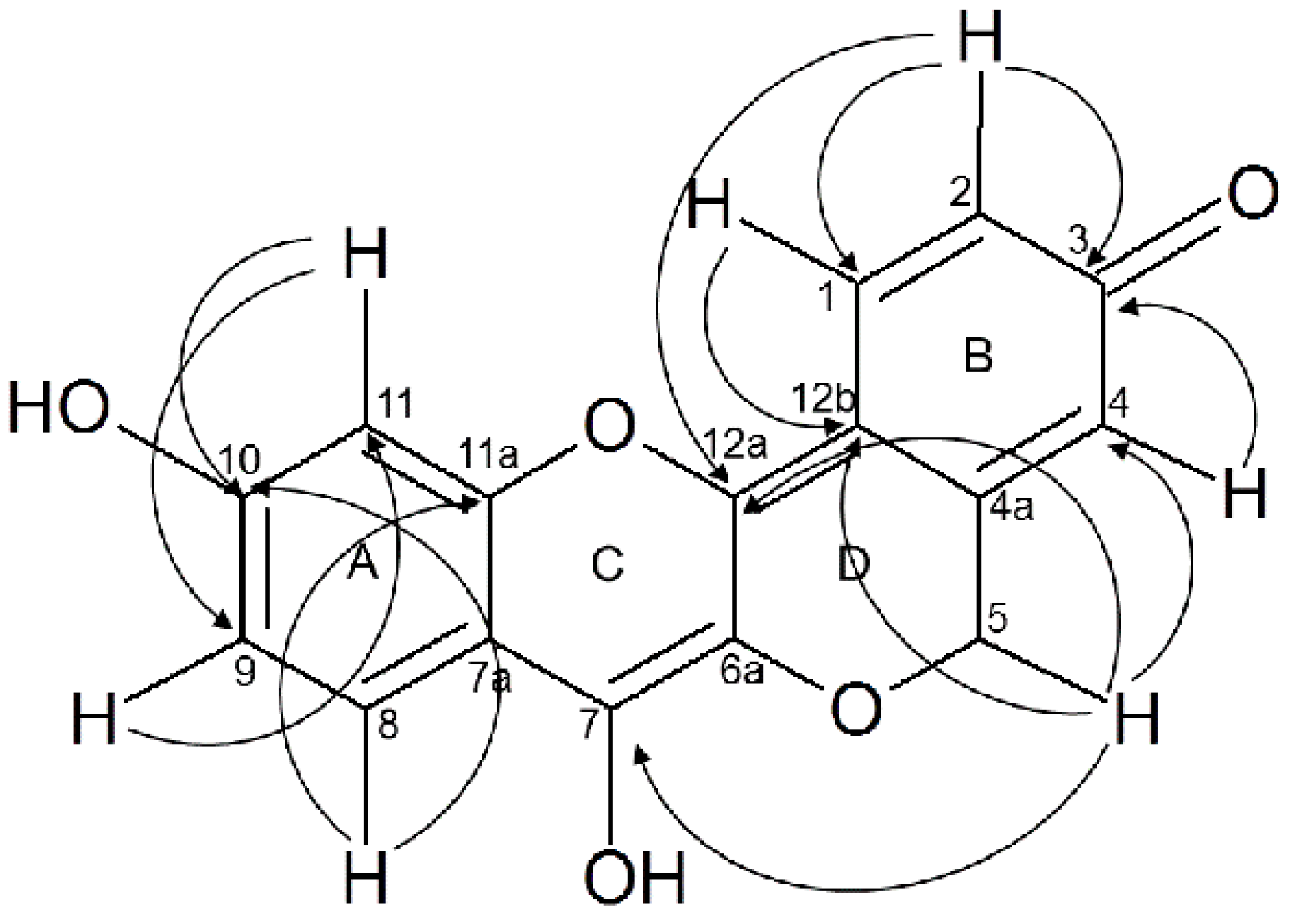 1947x1389 Molecules Free Full Text Peltomexicanin, A Peltogynoid Quinone
