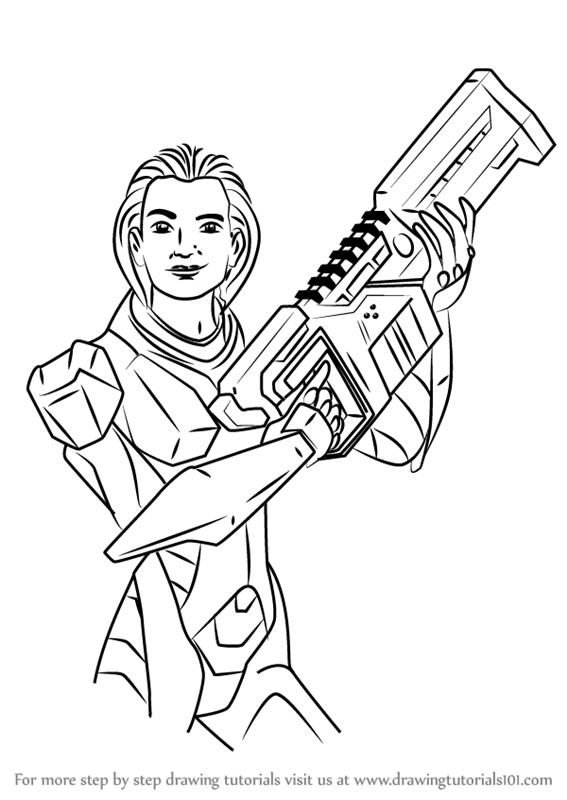 567x800 Learn How To Draw Molly Mcgrath From Max Steel (Max Steel) Step By