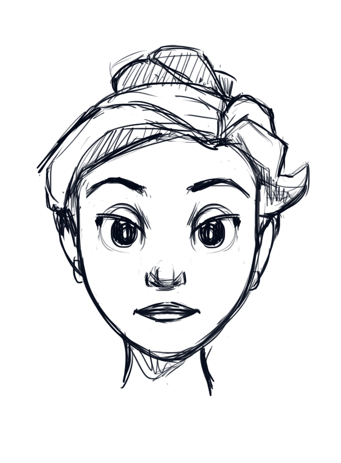 How To Draw A Face Mom