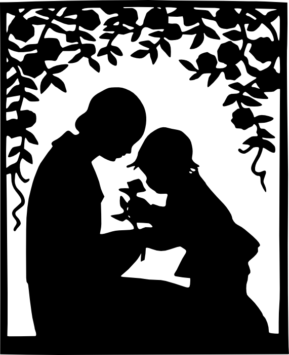 571x700 Free Clipart Of Pregnant Women, New Mothers And Families