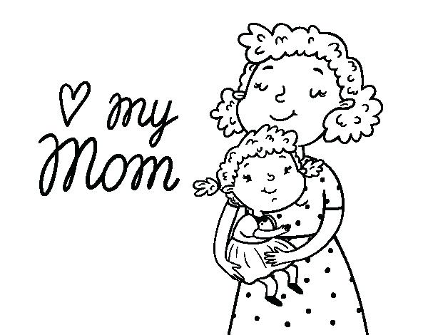 600x470 I Love Mom Coloring Pages I Love You Color Pages I Love You Mommy