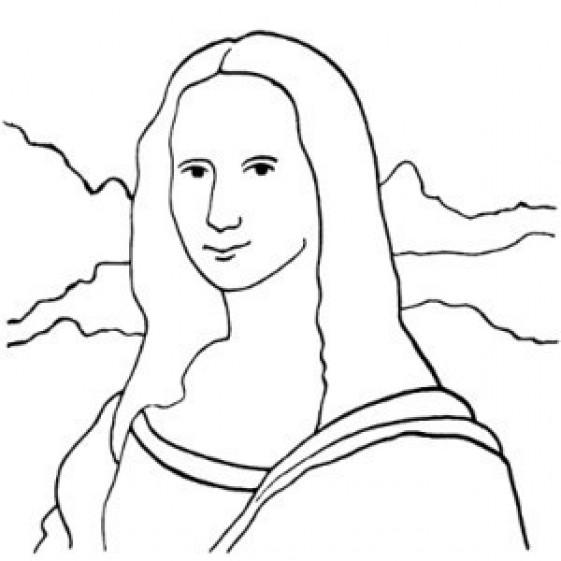 561x561 Mona Lisa Tile