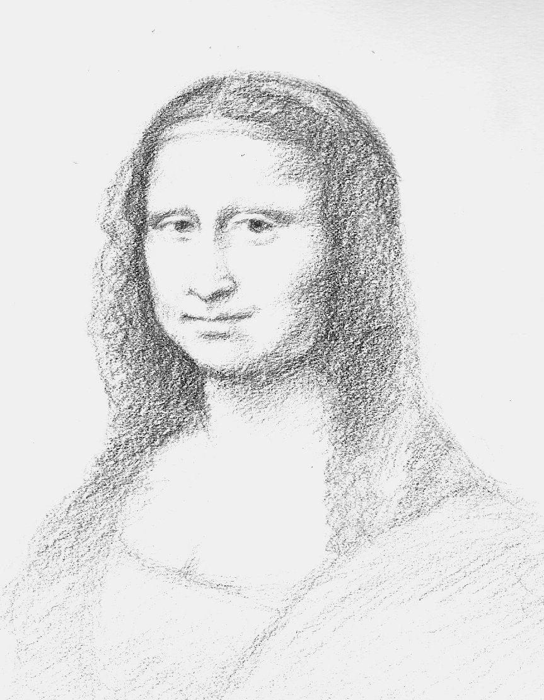 863x1112 Mona Lisa By Korlic0369