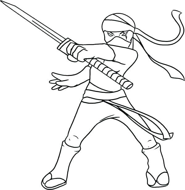 600x616 Cool Mona Lisa Coloring Page Print Pages Ninja Kid Drawing