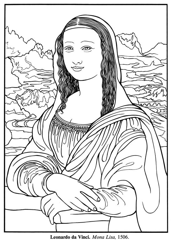 550x770 Image Result For Mona Lisa Outline Drawing Auction Projects