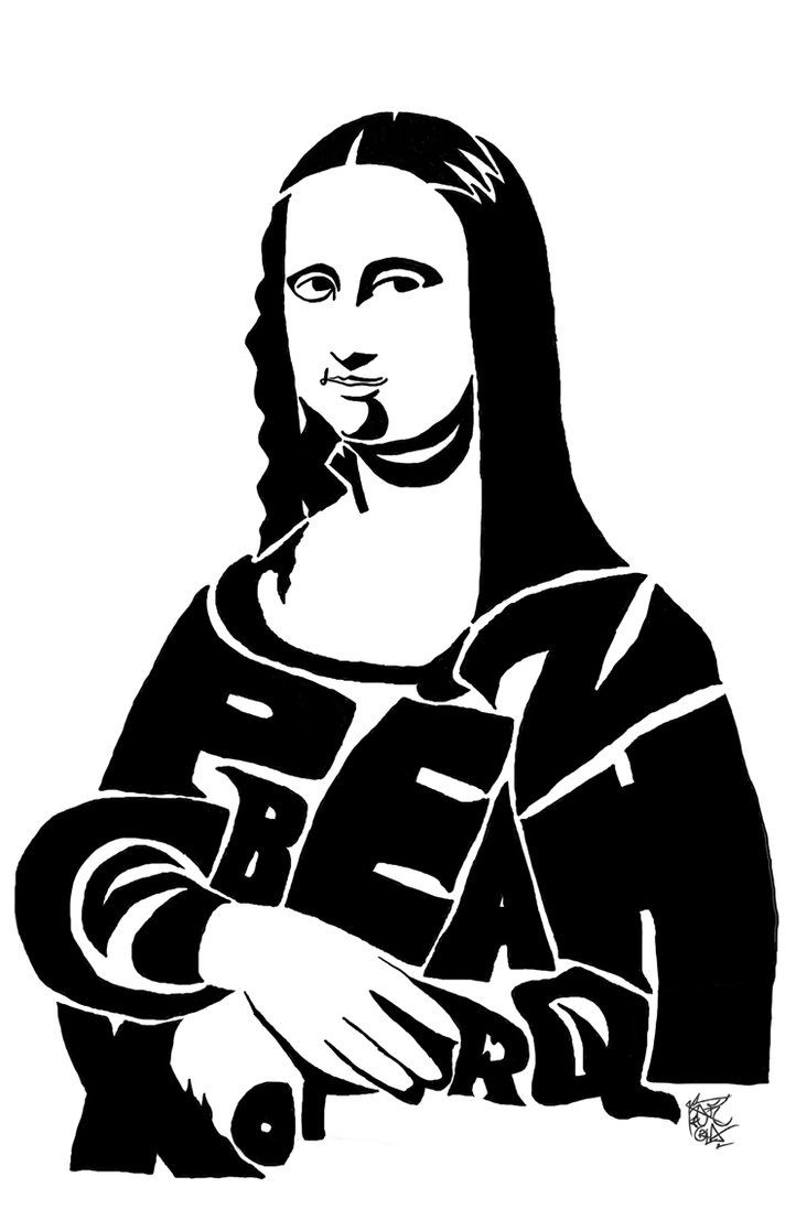 722x1107 Mona Lisa Line Drawing 88 Best Images About Mona Lisa