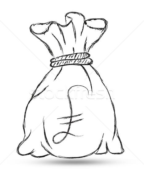 467x600 Money Bag With Pound Stock Photo Sujin Jetkasettakorn (Rufous