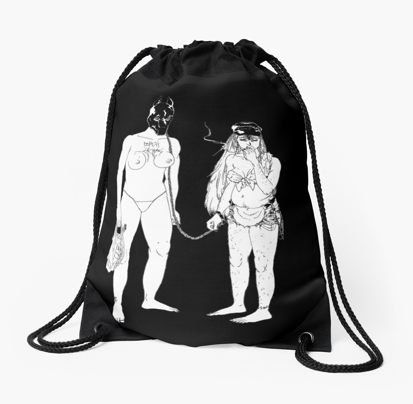 1435x1404 Death Grips The Money Store Drawstring Bags By Creeps Redbubble