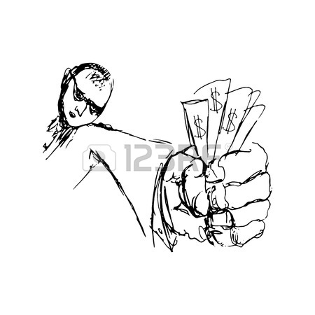 450x450 270 Hand Giving Money Drawing Cliparts, Stock Vector And Royalty