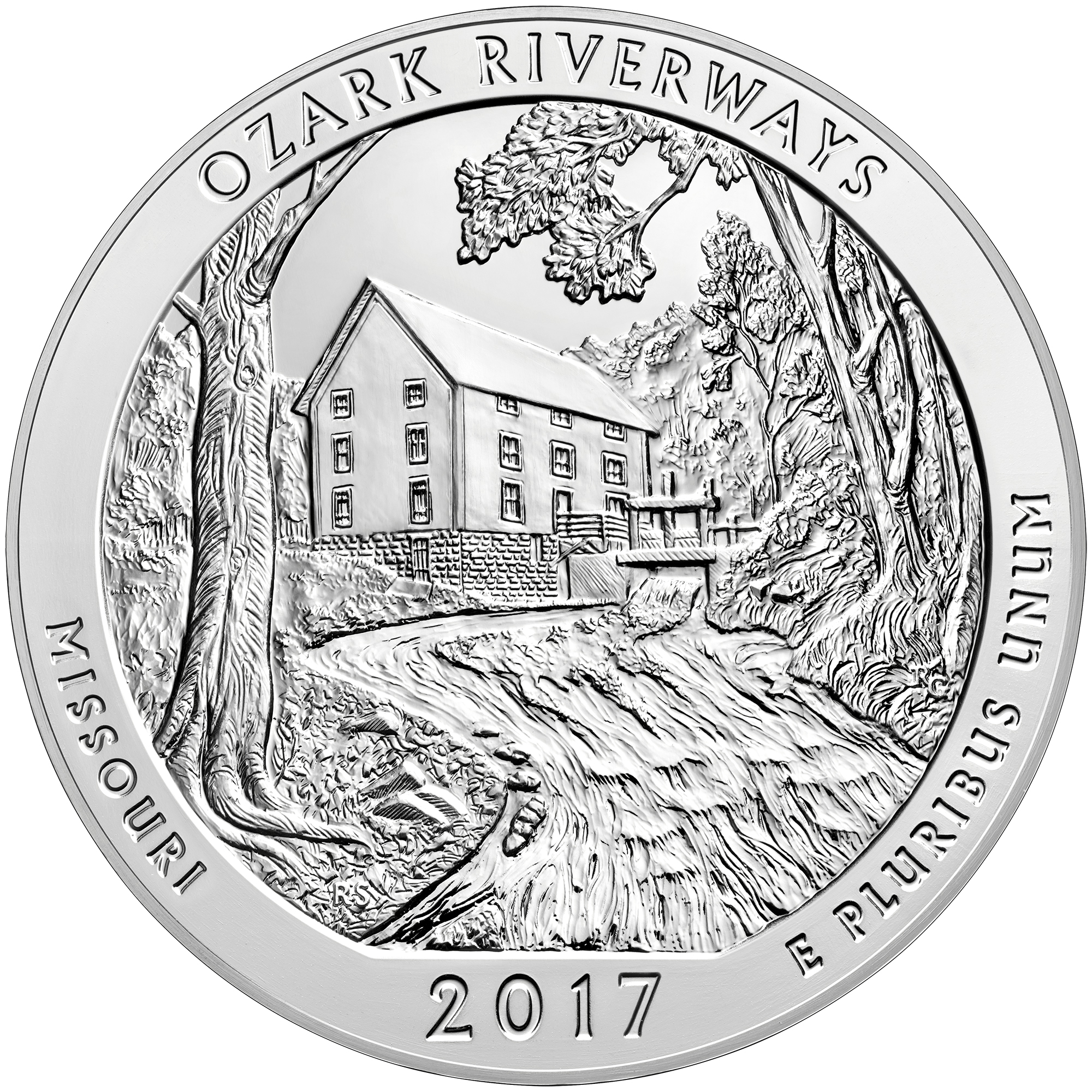2000x2000 Ozark National Scenic Riverways (Mo 2017) 25c Bu Roll D Hauser