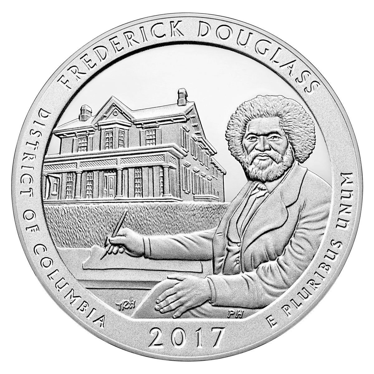 1200x1200 P Frederick Douglass, Dc National Park Quarter 40 Coin Roll