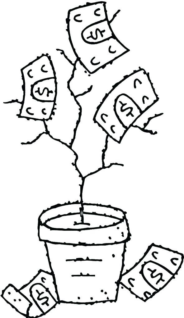 591x1024 Money Coloring Pages Money Coloring Page Money Tree Pictures Money