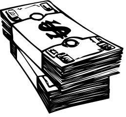 259x240 Stack Of Cash Clipart