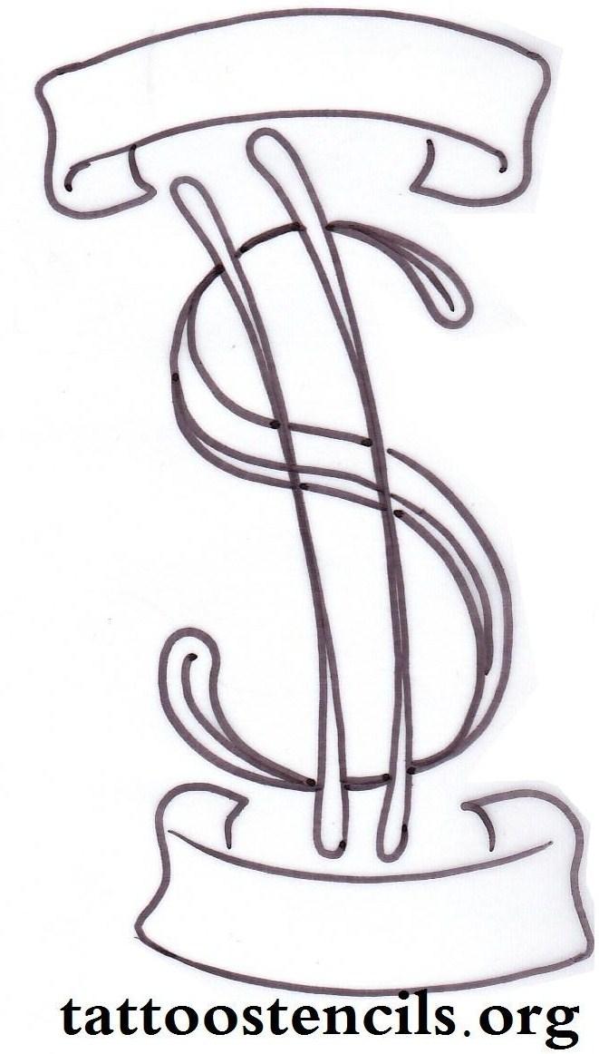 661x1162 3 Simple Money Tattoo Designs