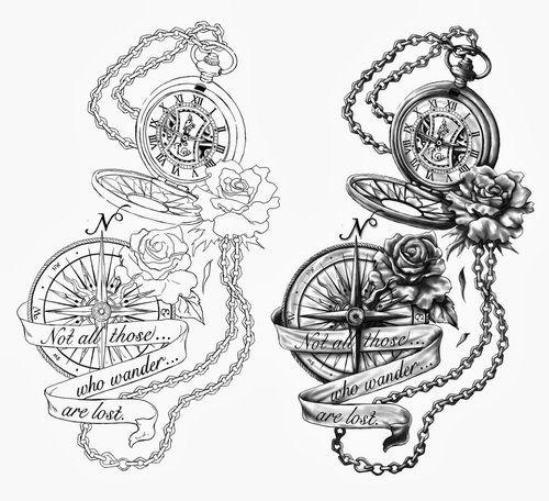 500x456 Alice In Wonderland Tattoo Drawings