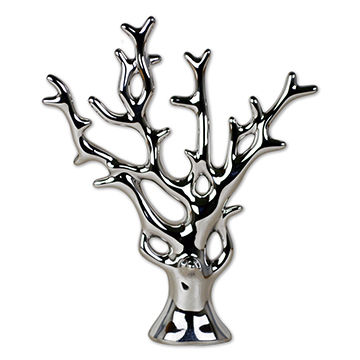 360x360 11 Chinese Feng Shui Porcelain Money Tree In Silver For Wealth