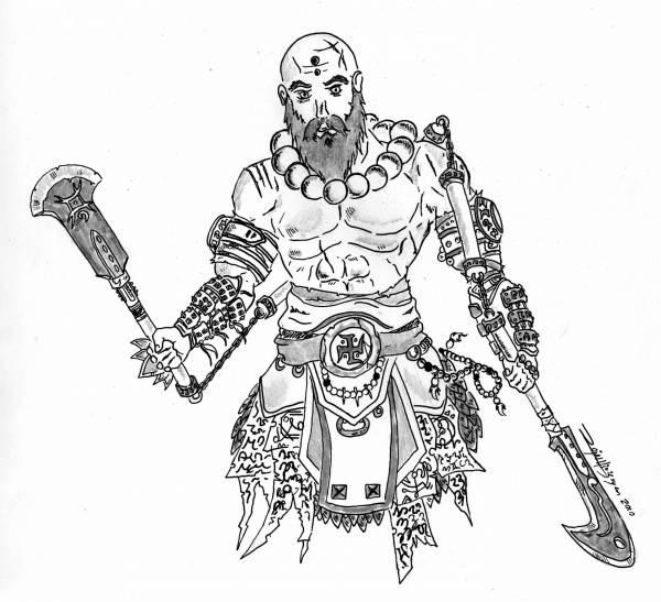 600x547 Monk Concept Art Diablo 2 And Diablo 3 Forums