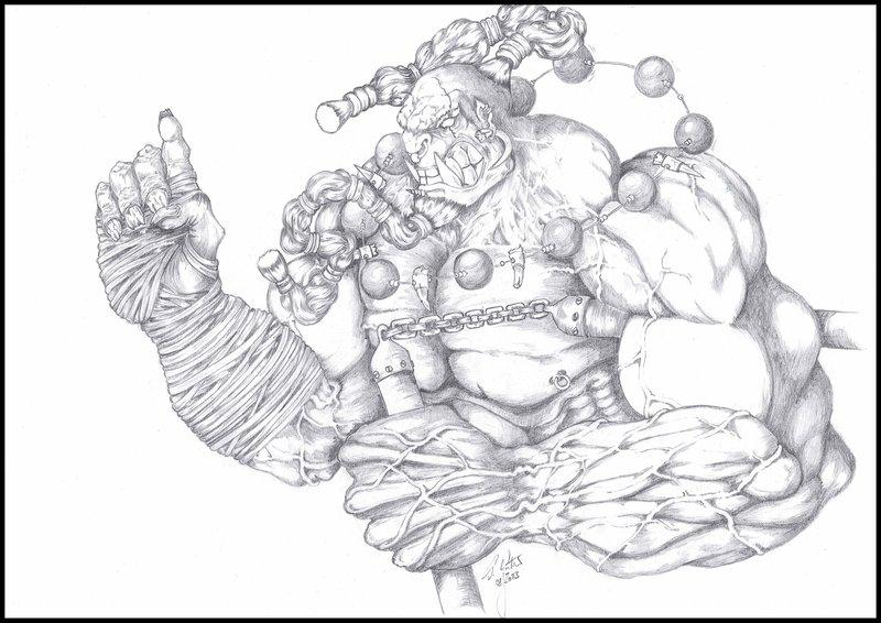 800x566 Orkish Shaolin Monk By Tilllemann